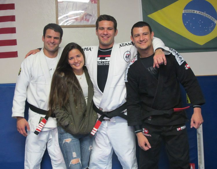 Jiu-JItsu black belt