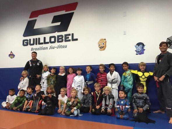 Kids Martial arts halloween