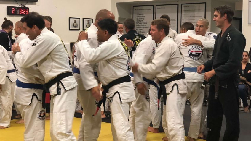 brazilian jiu-jitsu san clemente adult promotion June 2018