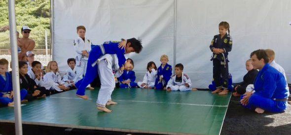 Brazilian Jiu-Jitsu Demonstration San Clemente