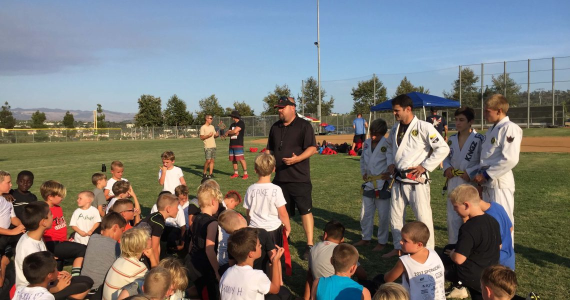 Brazilian Jiu-Jitsu helping San Clemente Youth Football